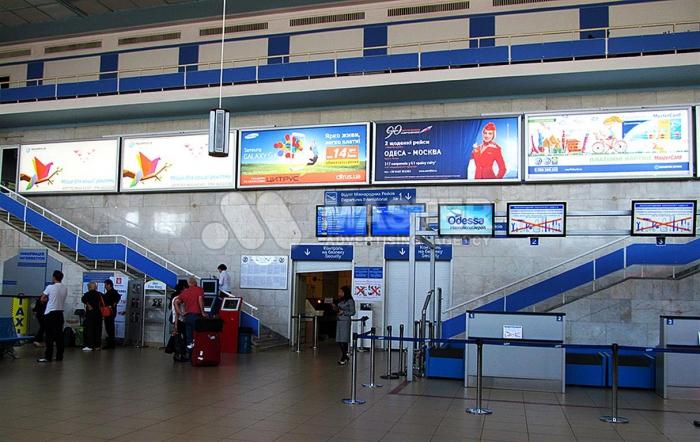размещение рекламы в аэропортах