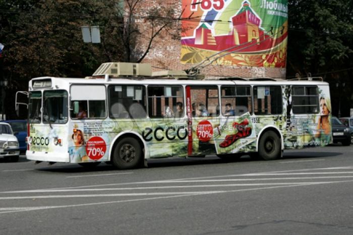 Реклама на автобусах и маршрутках Москвы и Московской области